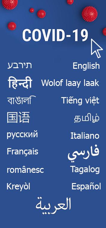 Covid Langues